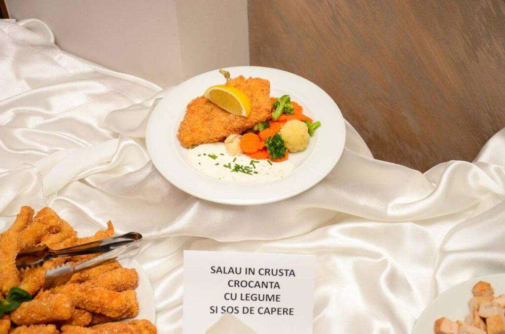 Sala de evenimente Turda - Salau in crusta crocanta
