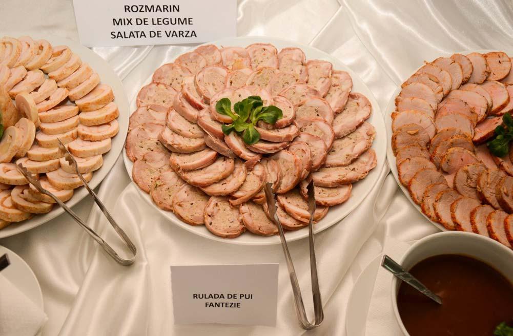 Meniu Restaurant nunta Turda - rulada de pui