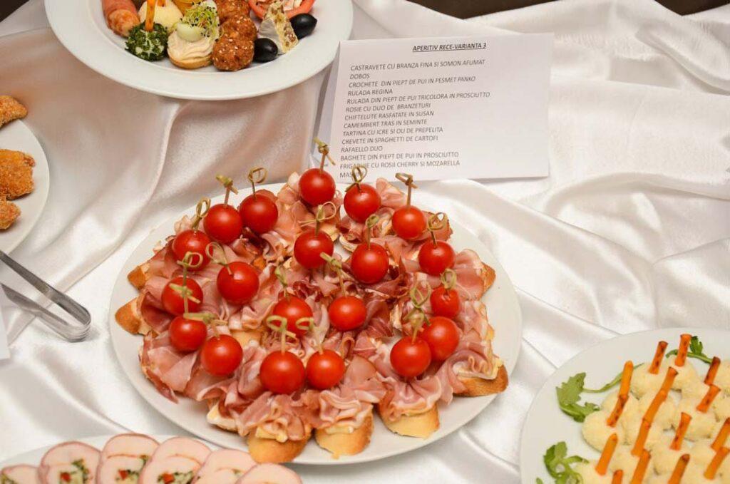 Meniu Restaurant nunta Turda - preparate aperitiv