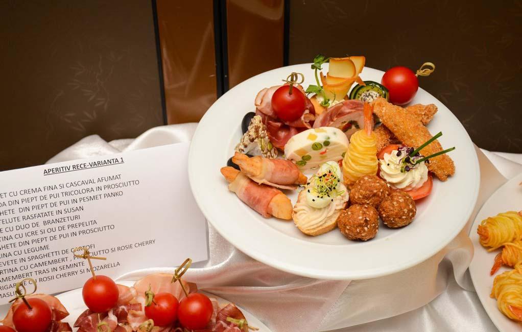 Meniu Restaurant nunta Turda - Aperitiv rece